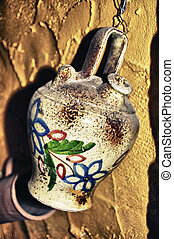 traditional spanish jug, old style