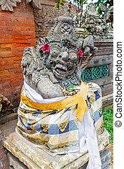 Traditional Statue of Demon, Bali