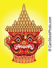 Thai mask.