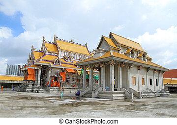 Traditional Thai style church