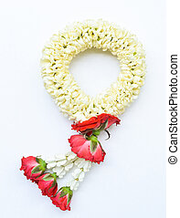traditional thai style garland