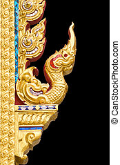 Traditional Thai style pattern on b