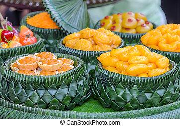 Thai sweet dessert - Traditional Thai sweet dessert