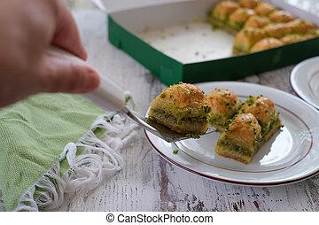 Traditional Turkish Dessert  Baklava