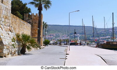 """traditional turkish houses, travel destination around foca..."