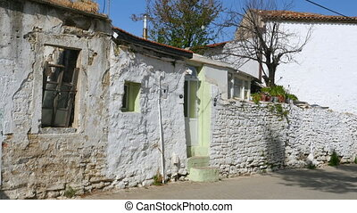 """traditional turkish houses, travel destination, yeni foca,..."