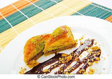 Traditional turkish sweet dessert
