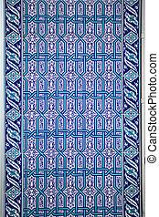 Traditional Turkish wall tiles