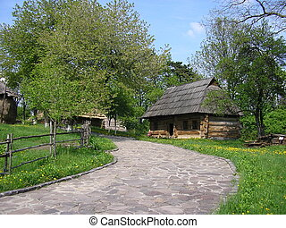 house in the village - Traditional ukrainian house in the ...