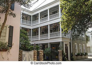 Traditional Verandas in Charleston