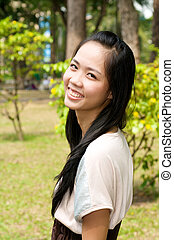 Traditional Vietnamese Girl