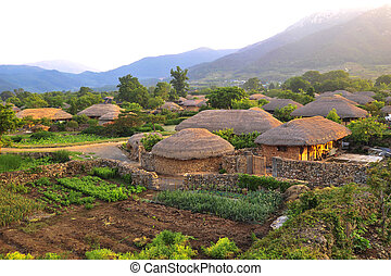 Traditional village in South Korea,Naganeupseong