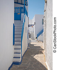 Traditional village Plaka in Milos Island - Traditional...
