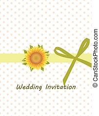 Traditional vintage Invitation card