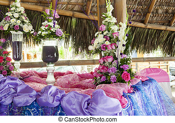 wedding at the beach in Ecuador
