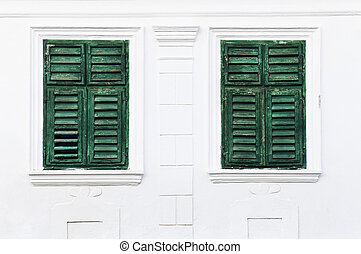 Traditional windows in Rametea