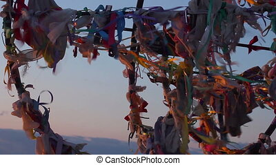 """Traditional wish tree, tourist attraction, dreams come..."