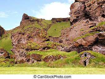 Traditiondal Icelandic House - Abandoned traditional...