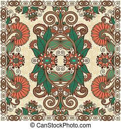 traditionele , decoratief, paisley, floral, bandanna