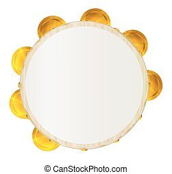 traditionele , tambourine