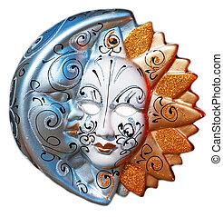 traditionele , venetie, masker