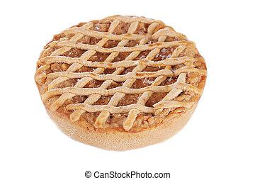 traditionell, äpple tårta
