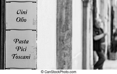traditionelle , essen, italienesche