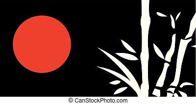 traditionelle , gemälde, japanisches