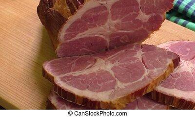 traditionelle , geräuchert, fleisch