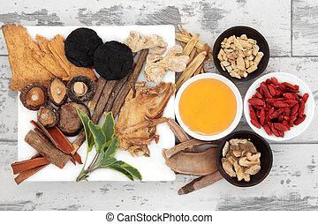 traditionelle medizin, chinesisches