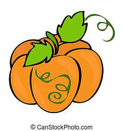 traditionelle , pumpkin.