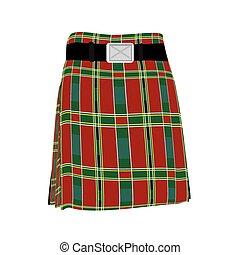traditionelle , schottenrock, schottische