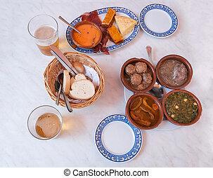 traditionelle , spanischer , tapas