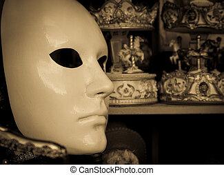 traditionelle , venezianische maske