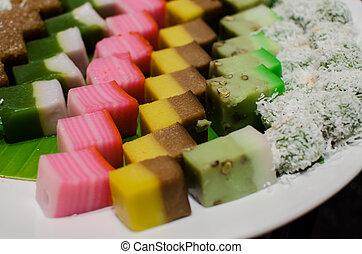 traditionnel, dessert, malais