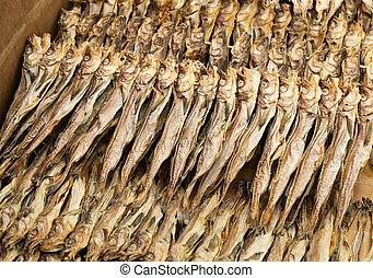 traditionnel, fish, salé