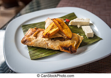 traditionnel, plat, mexicain, tamales