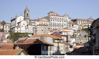 traditionnel, porto, architecture