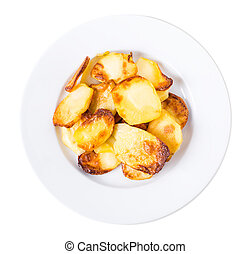 traditionnel, potatoes., rôti