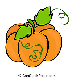 traditionnel, pumpkin.
