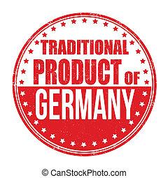 traditionnel, timbre, produit, allemagne