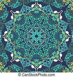 traditionnel, vendange, ottoman, fond, motifs.
