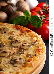 tradizionale, casalingo, pizza