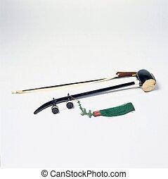 tradizionale, coreano, attrezzo