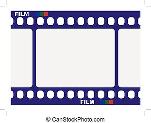 tradizionale, cornice foto, film