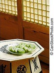 tradizionale, cultura, coreano