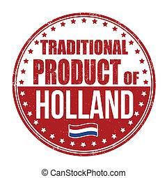 tradizionale, francobollo, prodotto, olanda