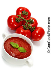 tradizionale, minestra pomodoro