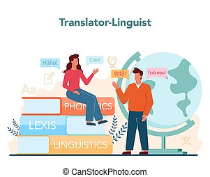traduzione, linguist, tradurre, documento, translator, ...