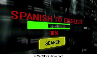 traduzir, espanhol, para, inglês, online